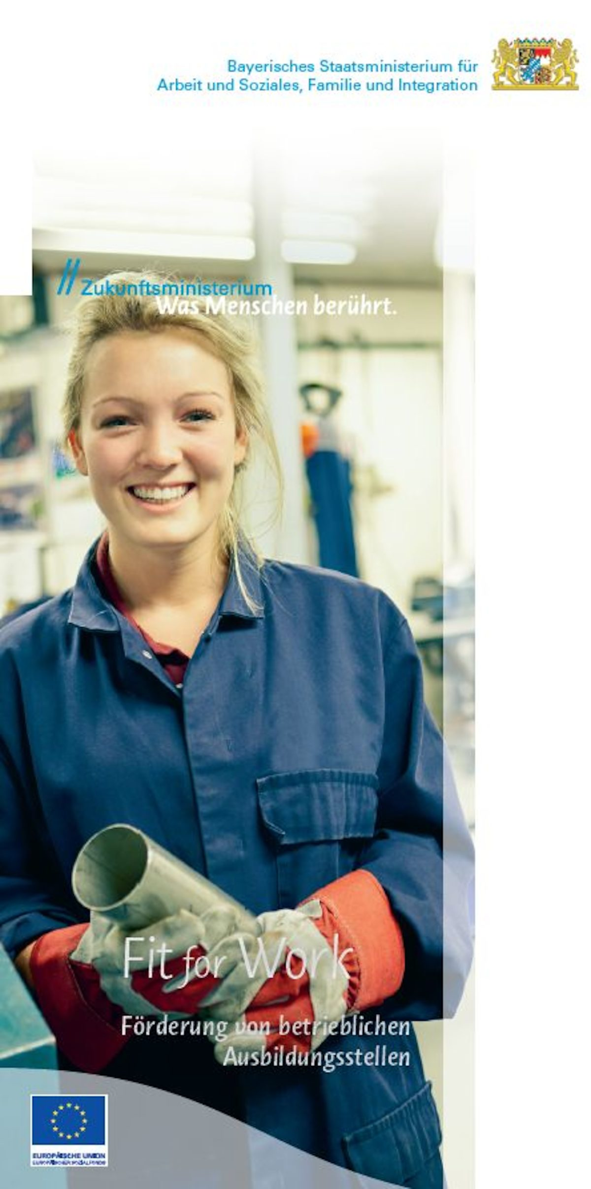 Fit for Work Flyer Titelbild